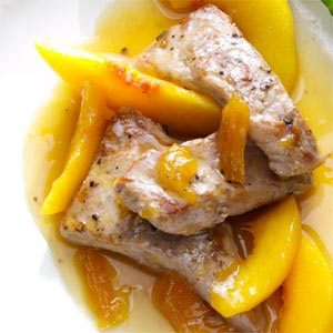 Just Peachy Pork Tenderloin Recipe
