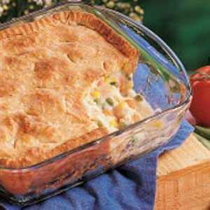 Old-Fashioned Chicken Potpie Recipe