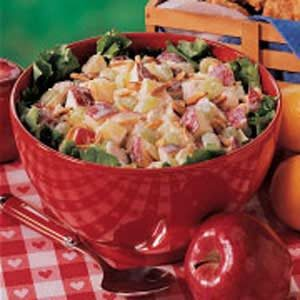 Lemony Chicken Fruit Salad Recipe