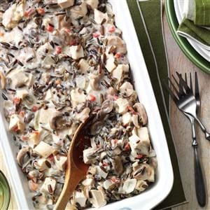 Contest-Winning Chicken Wild Rice Casserole Recipe
