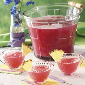 Pink Rhubarb Punch Recipe