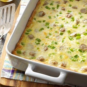 Sausage Cheese Squares Recipe