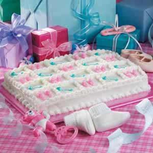 Booties 'n' Rattles Cake Recipe