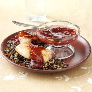 Pork Medallions with Pomegranate Sauce Recipe