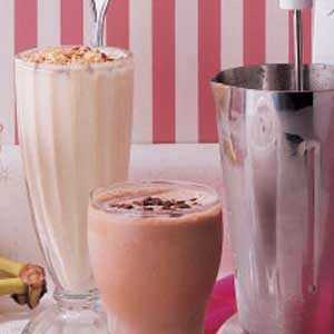 Tropical Milk Shakes Recipe