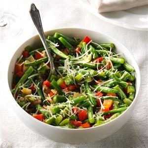 Pepper Parmesan Beans Recipe