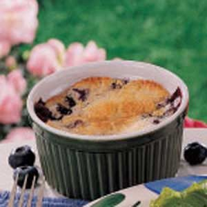 Blueberry Cake Cups Recipe