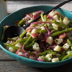 Green Bean & Potato Salad Recipe