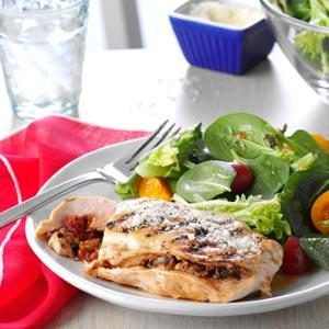 Tapenade-Stuffed Chicken Breasts