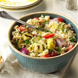 Farmer's Market Orzo Salad Recipe