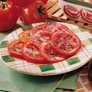 Simple Marinated Tomato Salad Recipe