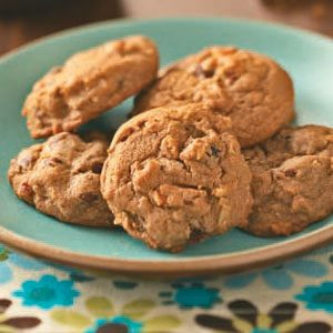 Chunky Mocha Cookies Recipe
