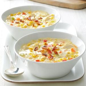 Easy Chicken Corn Chowder Recipe