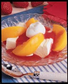Strawberry Peach Melba Recipe