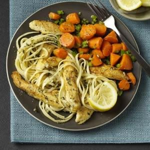 Sauteed Rosemary Carrots