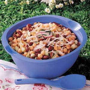 Veggie Bean Salad Recipe