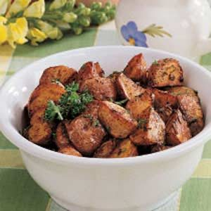 Herbed Oven Potatoes Recipe