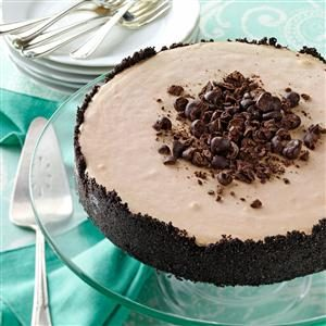 Frozen Mocha Torte Recipe