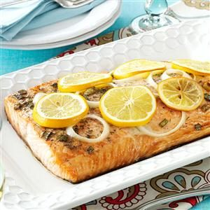 Lemon Grilled Salmon