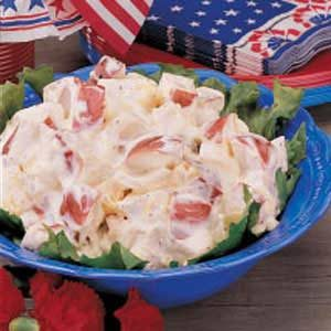 Grandma's Creamy Potato Salad Recipe