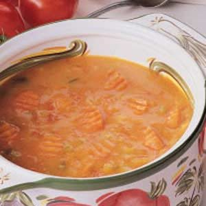 Rich Tomato Soup Recipe