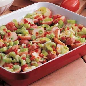 Easy Overnight Pimiento Potato Salad Recipe