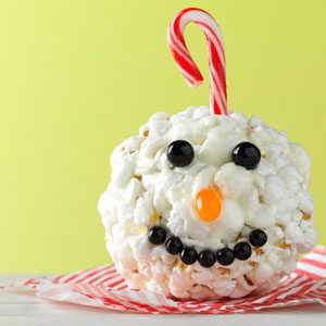 Ornament Popcorn Balls Recipe