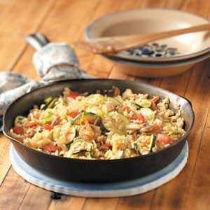 Brown Rice Veggie Stir-Fry Recipe