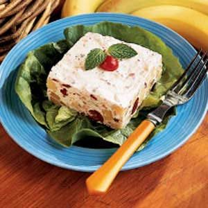 Frozen Cranberry Banana Salad Recipe