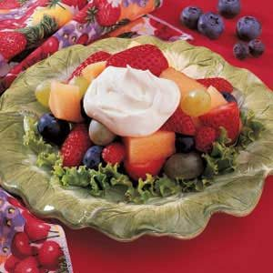 Buttermilk Fruit Topping Recipe