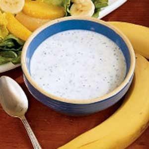 Banana Poppy Seed Dressing Recipe