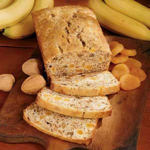 Apricot Banana Bread Recipe