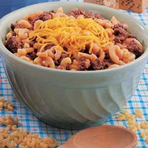 Beefy Barbecue Macaroni Recipe