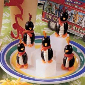 Perky Olive Penguins Recipe