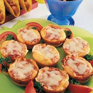 Lunch Box Pizzas Recipe