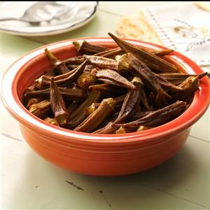 Okra Roasted with Smoked Paprika Recipe