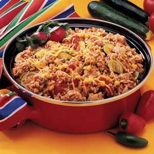 Fiesta Fry Pan Dinner Recipe