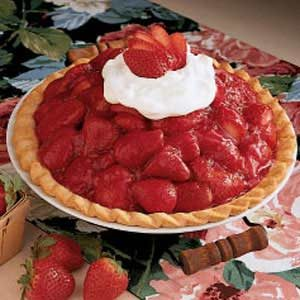 Sky-High Strawberry Pie Recipe