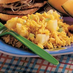 Curried Pineapple Rice Recipe