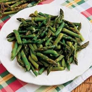 Sugared Asparagus Recipe