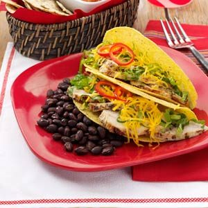 Summertime Chicken Tacos Recipe