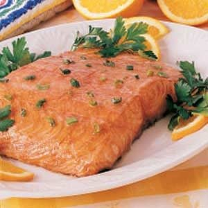 Gingered Honey Salmon Recipe