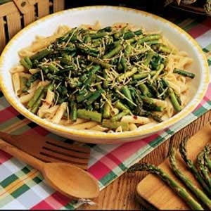 Pasta with Asparagus Recipe photo by Taste of Home