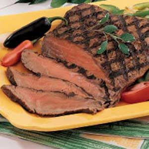 Quick Marinated Flank Steak