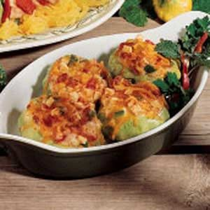 Stuffed Pattypans Recipe