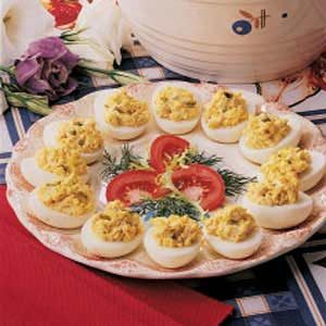 Crabby Deviled Eggs Recipe