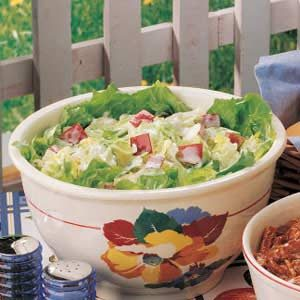 Apple Iceberg Salad Recipe