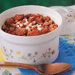 Michigan Beans and Sausage Casserole