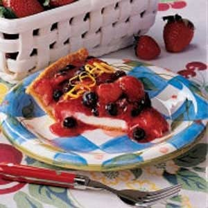 Summer Berry Cheese Pie Recipe