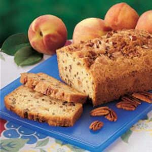 Peach Cobbler Bread Recipe